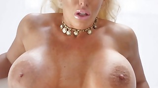 Seduced busty mature demonstrates her skills
