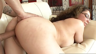 Kinky brunette mature with big tits needs a dick