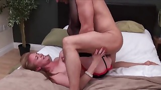 Sweet mature fuck in the doggy style pose