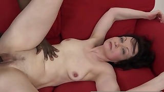 Sexy mature and black dick fuck on cam