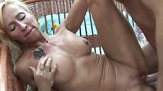 Good sex video mature blonde gets fucked