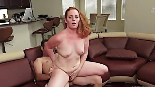 Tubes mature sex action on the sofa