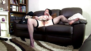 Sweet solo mature action with a hot MILF