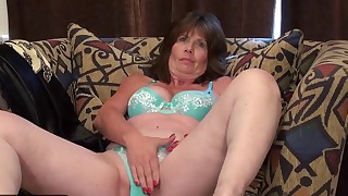 Skinny mature solo with an old lady